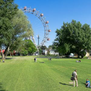 Prater Riesenrad in Wien